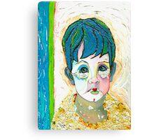 """BLUE PIERO- TRILOGY """"BLUE"""" Canvas Print"""