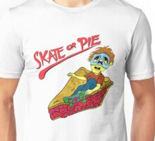Skate Or Pie! The Search For Double Trouble Unisex T-Shirt