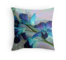 Singapore Orchid - a gift Throw Pillow