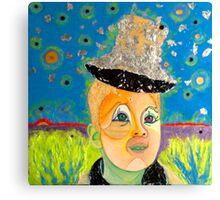 """BLUE SKY- TRILOGY """"BLUE"""" Canvas Print"""