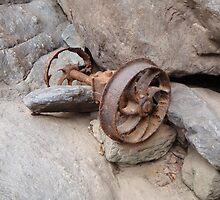 Train Wheels, Baron Gorge by Paco  Murray