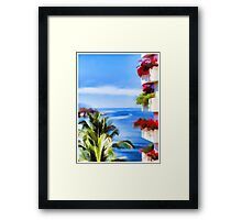 Vallarta View Framed Print