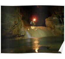 Harwoods Hole Cave, New Zealand Poster