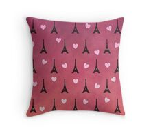 Anna and the French Kiss Throw Pillow
