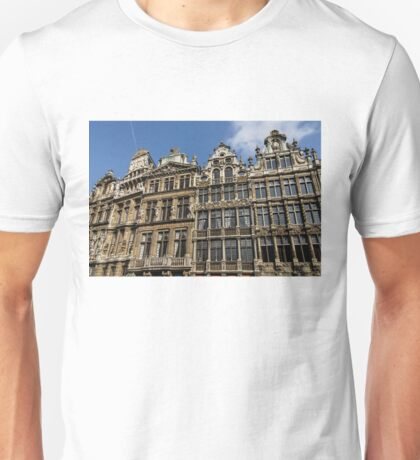 Postcard from Brussels - Grand Place Facades Unisex T-Shirt