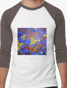 Bright Leaves Men's Baseball ¾ T-Shirt