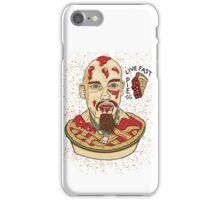 Live Fast Pie! GG Allin Tribute iPhone Case/Skin