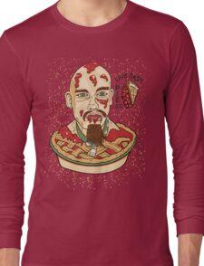 Live Fast Pie! GG Allin Tribute Long Sleeve T-Shirt