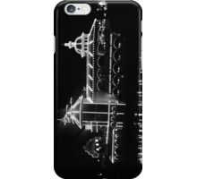 The Grotto - Black & White at Night iPhone Case/Skin