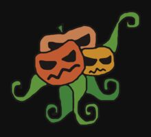 3 Headed Pumpkin .. Squid-like ... Thing.  by Chloe van Leeuwen