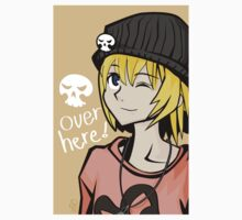 Over Here! One Piece - Short Sleeve