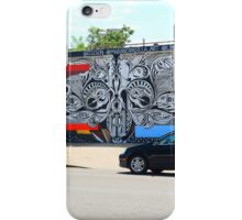 Denver Street Art Mural iPhone Case/Skin