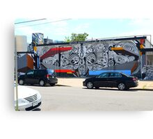 Denver Street Art Mural Canvas Print