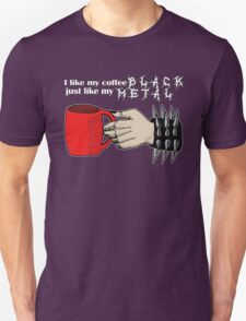 Black Metal Coffee T-Shirt