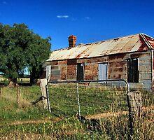 Old Tin House by SuzieCheree
