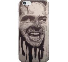 Jack Nicholson The Shining Here's Johnny iPhone Case/Skin