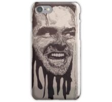 Jack Nicholson The Shining Here's Johnny iPhone Case/Skin