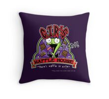 Waffle House of Tacos Throw Pillow