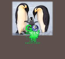 stay green penguin Mens V-Neck T-Shirt