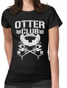 """""""Otter Club: It's Reeeeeeal !!"""" Womens Fitted T-Shirt"""