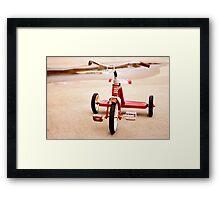 Trike Framed Print