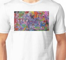 DRAWN OUT - LARGE FORMAT - HORIZONTAL Unisex T-Shirt