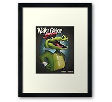 Wally Gator, the Remix Framed Print