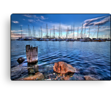 A View Ahoy Canvas Print