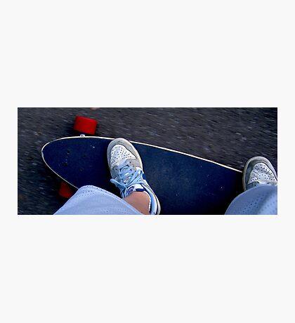 Longboarding Photographic Print