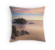 Big Rock Little Rock II Throw Pillow