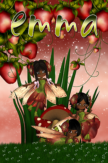 Under The Strawberry Bush - For Emma With Love xx  by Moonlake