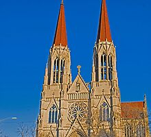 The Cathedral of St. Helena by Bryan D. Spellman