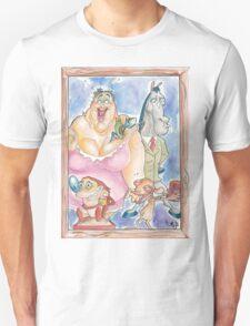 Ren and Stimpy Family Portrait Unisex T-Shirt