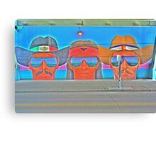 Denver Street Art Canvas Print