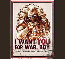 I Want YOU for WAR, BOY (dark colors) Unisex T-Shirt