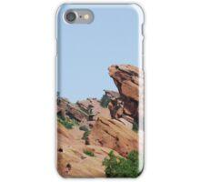 Jagged Red Rocks iPhone Case/Skin