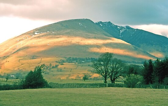 Afternoon Sun on the mountain by amylw1