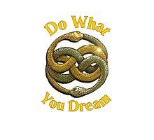 Do What You Dream Photographic Print
