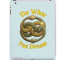 Do What You Dream iPad Case/Skin