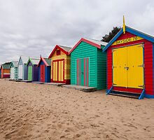 Brighton Beach Boxes by Esther Frieda