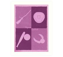 Quidditch Minimalist Art Print