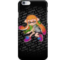 Splatoon Inkling Girl iPhone Case/Skin