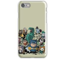 Batbeans and friends iPhone Case/Skin