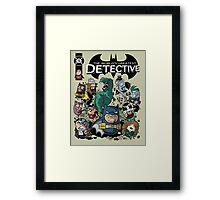 Batbeans and friends Framed Print