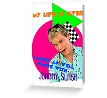 Dancing with Johnny Slash Greeting Card
