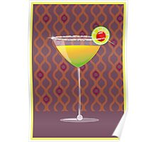 lime martini with a twist Poster