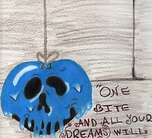 Poison Apple Drawing by molliechristeen