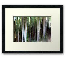 Impressionist Light Strokes Framed Print