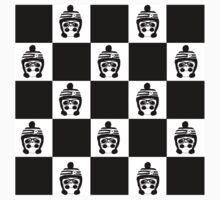 Panda Chess Kids Tee