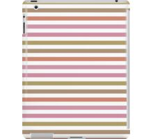 Pink Roses in Anzures 2 Stripes 1H iPad Case/Skin